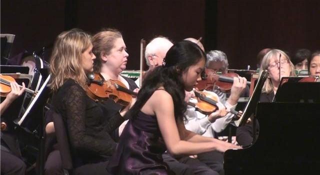 Jessica in Concerto Performance