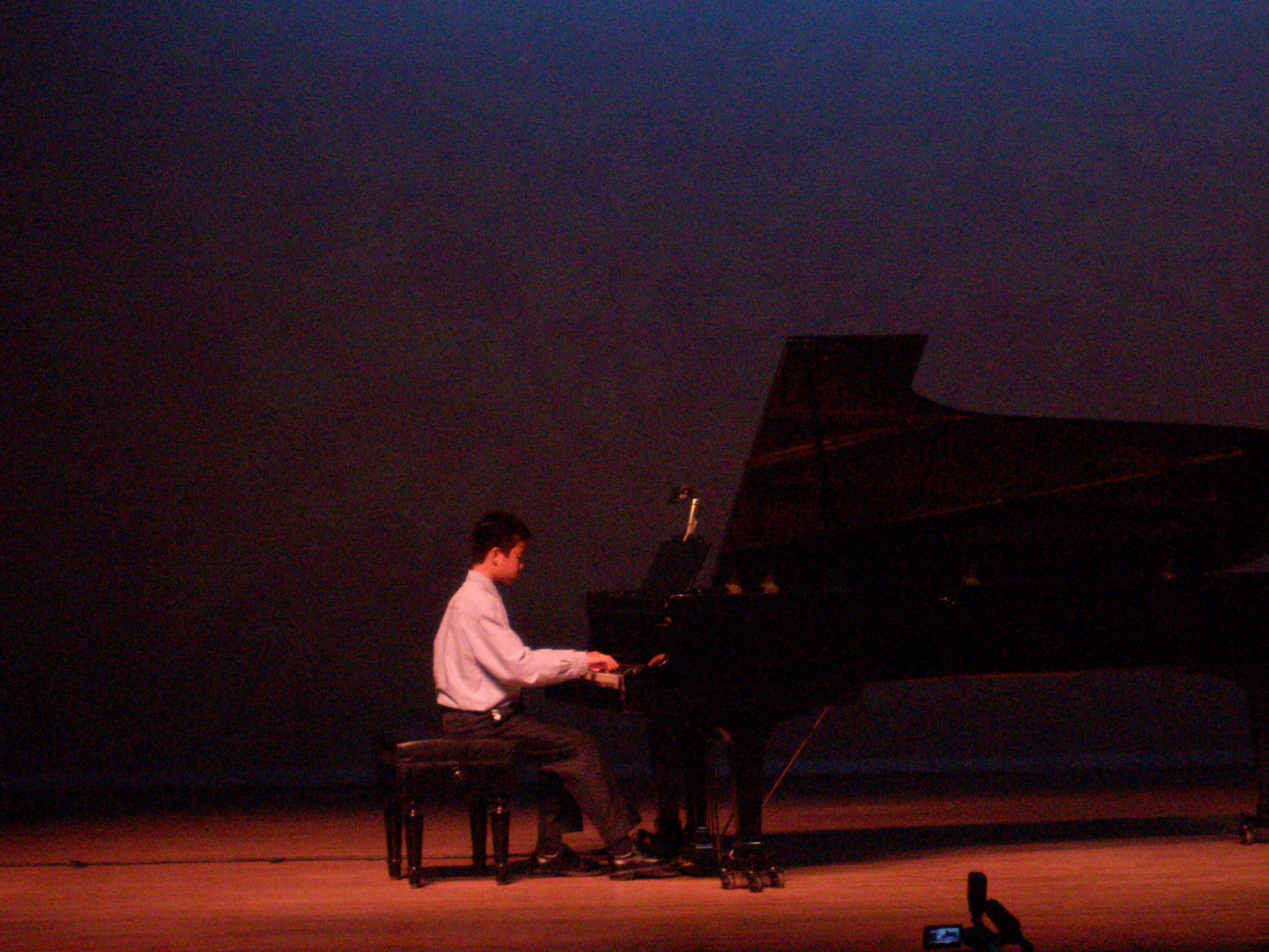 Edward Wang at San Antonio Prodigy Concert
