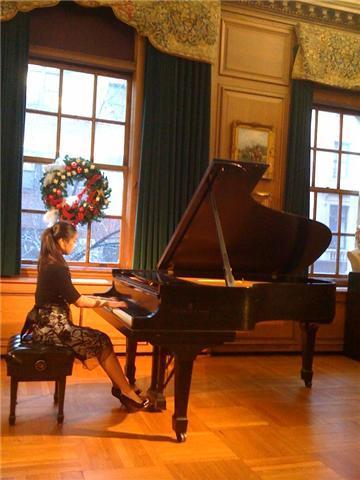 Rayhan plays NYC Kosciuzko Foundation